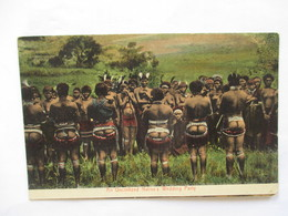 AN  UNCIVILIZED  NATIVE'S   WEDDING  PARTY   ....  ....    TTB - South Africa
