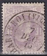 "173-  COB/OBP 36 (o) ""CHARLEROI (VILLE HAUTE)"" +8 - 1869-1883 Leopold II."
