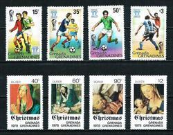 Grenadines Nº 262/5-273/6 Nuevo - Grenada (1974-...)