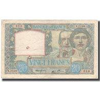 France, 20 Francs, Science Et Travail, 1940-12-05, TB, Fayette:12.10, KM:92b - 1871-1952 Antichi Franchi Circolanti Nel XX Secolo