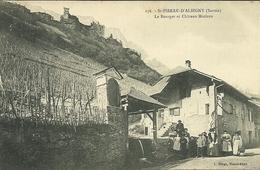 SAINT-PIERRE-D' ALBIGNY  - Le Bourget Et Château Miolans - Saint Pierre D'Albigny