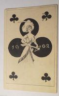 """""""Jahreszahl, Kartenspiel, Kreuz Dame"""" 1901 ♥ (17097) - Anno Nuovo"""