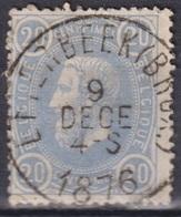 "174-  COB/OBP 31 (o) ""ETTERBEEK (BRUX)"" +8 - 1869-1883 Leopold II."