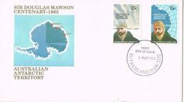 35386. Carta SUTHERLAND (Australia) 1982. Australian ANTARCTIC Territory. Douglas Mawson - FDC