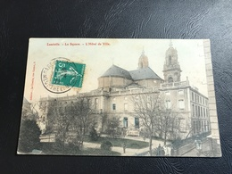 LUNEVILLE Le Square - L'Hotel De Ville - 1911 Timbrée - Luneville