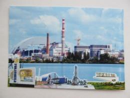 Ukraine Chernobyl Nuclear Power Plant (Chornobyl) Aerial View - Ukraine