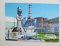 Ukraine Chernobyl Nuclear Power Plant (Chornobyl) Monument To The Liquidators - Ukraine
