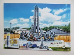 "Ukraine Chernobyl Nuclear Power Plant (Chornobyl) Memorial ""To Those Who Saved The World"" - Ukraine"