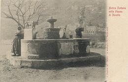 Ravello Antica Fontana Nella Piazza  . Undivided Back. Edit Cicalese - Altre Città