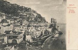Amalfi Cettara Strada Da Vietri Ad Amalfi  Fototipia Napoli Undivided Back - Altre Città