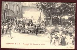 Eyragues Promenade De La Charrette De St Eloi Bénédiction Procession Saint-Eloi - Tradition Provençale Bouches-du-Rhône - Other Municipalities