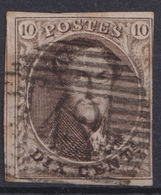 """178-  COB/OBP 10A (o) P42 """"FONTAINE L'EVEQUE"""" +6 - 1858-1862 Medaillen (9/12)"""