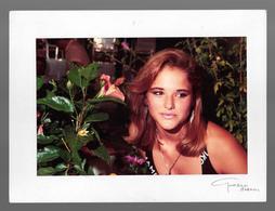 PHOTO  -  FEMME - GIRL - WOMAN - MISS -  PHOTO CM. 19X12,5 - Pin-ups
