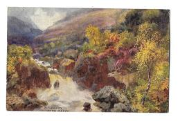 ECOSSE---PITLOCHRY---GLEN GARRY As The Valley--illustration  H.B. WIMBUSH--voir 2 Scans - Perthshire