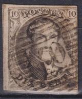 "179-  COB/OBP 10A (o) P40 ""FLORENNES"" +15 - 1858-1862 Medaillen (9/12)"