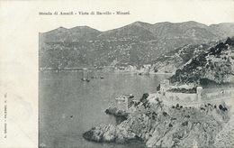 Strada Di Amalfi Vista Di Ravello Minori Undivided Back . Edit Brangi Palermo - Altre Città
