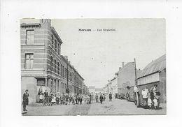 MERKSEM 1920  MERXEM VAN STRALENLEI     MET HEEL WAT VOLK - Antwerpen