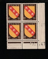 Coin Daté 757 ** 7/7/47 - 1940-1949