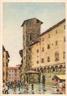 (C).Firenze.Piazzetta S.Piero.Illustratore A.M. Crepet (c20) - Firenze