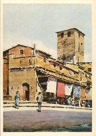 (C).Firenze.Sul Ponte Vecchio.Illustratore A.M. Crepet (c20) - Firenze
