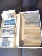 FRANCE GROS LOT VARIE DE + 1300 CARTES POSTALES ANCIENNES REGIONALES PETIT FORMAT TYPE DROUILLE CACHET POSTAL TIMBRE - Postkaarten