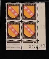 Coin Daté 757 ** 24/2/47 - 1940-1949