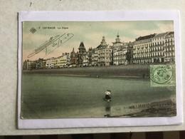 OOSTENDE  1908  OSTENDE LA DIGUE  SBP N° 7 - Oostende