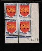 Coin Daté 835 ** 7/4/49 - 1940-1949