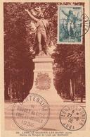 Carte Maximum - Lons-Le-Saulnier-Les-Bains Statue De Rouget De Lisle Par Bartholdi Centenaire - France