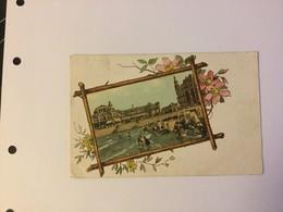 OOSTENDE 1902  LA BELQIQUE OSTENDE  LA PLAGE ET LE KURSAAL     PRACHTIGE KAART / CPA SPLENDIDE - Oostende