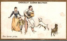 Chromo Chocolat Guerin-Boutron    Une Bonne Prise - Guérin-Boutron