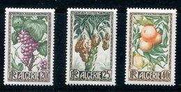 Algeria SC# 229-31(*)  Mint Lh Algerian Produce Complete Set 1949 - Algeria (1924-1962)