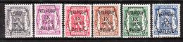 PRE381/86*  Petit Sceau De L'Etat - Année 1938 - Série Complète - MH* - LOOK!!!! - Typo Precancels 1936-51 (Small Seal Of The State)