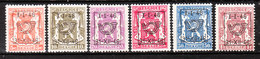 PRE547/52**  Petit Sceau De L'Etat - Année 1946 - Série Complète - MNH** - LOOK!!!! - Typo Precancels 1936-51 (Small Seal Of The State)