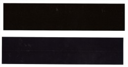 BANDE POCHETTE ID HAWID DOUBLE SOUDURE FOND NOIR 210 X 36 Mm - Buste Trasparenti