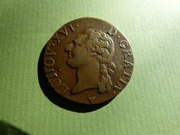 Demi Sol  LOUIS XVI 1791 I  TTB - 1789-1795 Monnaies Constitutionnelles