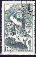 Korea (Nord North) - Wiedervereinigung Von Nord- Und Südkorea (MiNr: 724) 1966 - Gest Used Obl - Korea, North