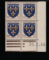 Coin Daté 604 **  20/3/44 - 1940-1949