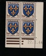Coin Daté 604 **  22/3/44 - 1940-1949