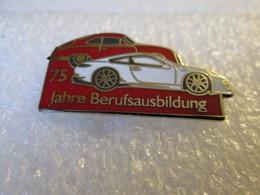PIN'S   PORSCHE    75  JAHRE BERUFSAUSBILDUNG  Email Grand Feu - Opel