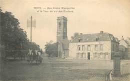 Belgique - Mons - Rue André Masquelier Et La Tour Du Val Des Ecoliers - Attelage - Mons