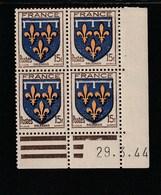 Coin Daté 604 **  29/3/44 - 1940-1949