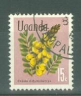 Uganda: 1969/74  Flowers    SG133    15c    Used - Uganda (1962-...)