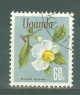 Uganda: 1969/74  Flowers    SG138    60c    Used - Uganda (1962-...)
