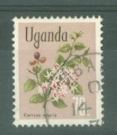 Uganda: 1969/74  Flowers    SG139    70c    Used - Uganda (1962-...)
