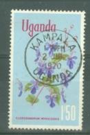 Uganda: 1969/74  Flowers    SG141    1s 50    Used - Uganda (1962-...)
