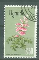Uganda: 1969/74  Flowers    SG142    2s 50    Used - Uganda (1962-...)