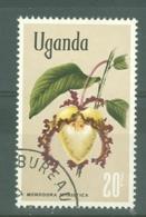 Uganda: 1969/74  Flowers    SG145    20s    Used - Uganda (1962-...)