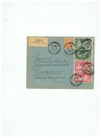 LETTRE  DEPART CAEN (CALVADOS ) Pour PRAGUE TCHECOSLOVAQUIE 1924 - Cartas