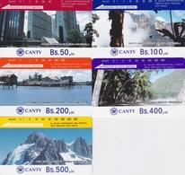 Set Of Five Mint Cards Tamura - Venezuela